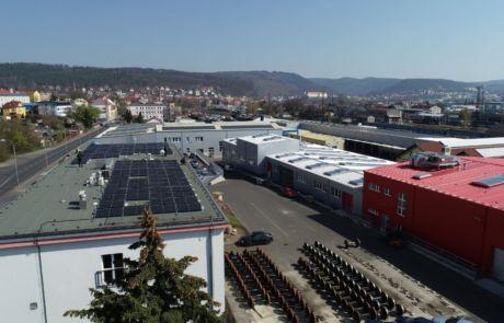RYKO a.s., Děčín má ve svém areálu novou 419,9 kWp fotovoltaickou elektrárnu_YOUNG4ENERGY