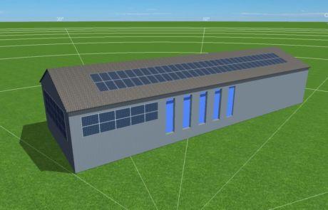 Branka u Opava návrh fotovoltaické elektrárny na fasáděYOUNG4ENERGY