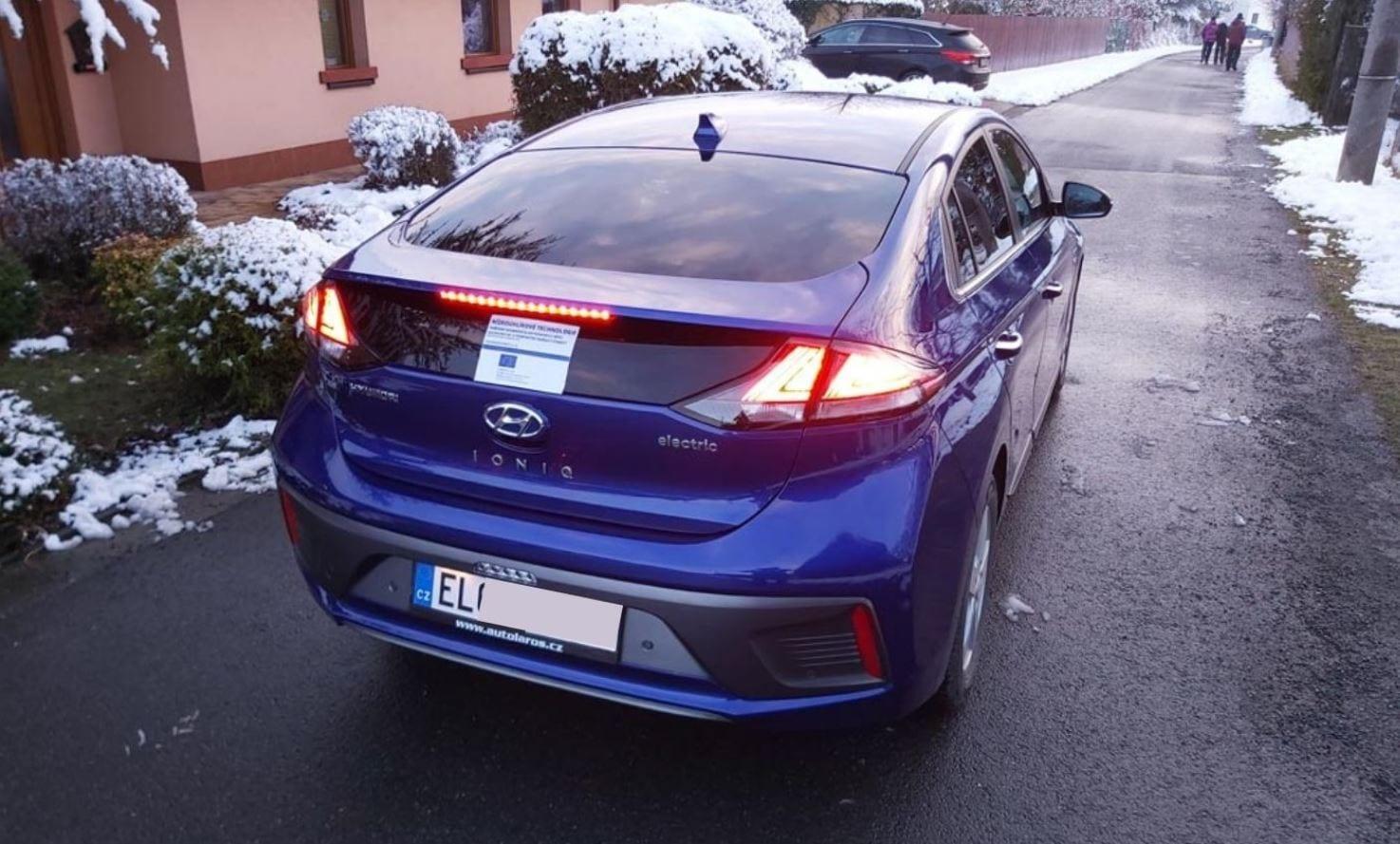 Elektromobil IONIQ 20 EV jsme pořídili za podpory dotace OP PIK young4energy