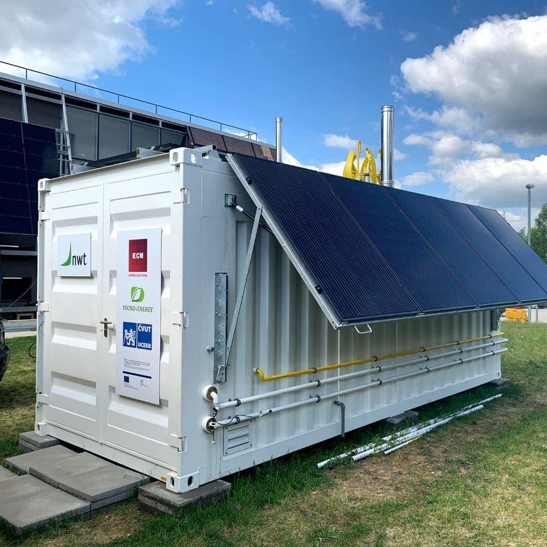 Prototyp mobilní kondenzační miniteplárna ve spolupráci v konsorciu s ECM Systém, UCEEB a YOUNG4ENERGY