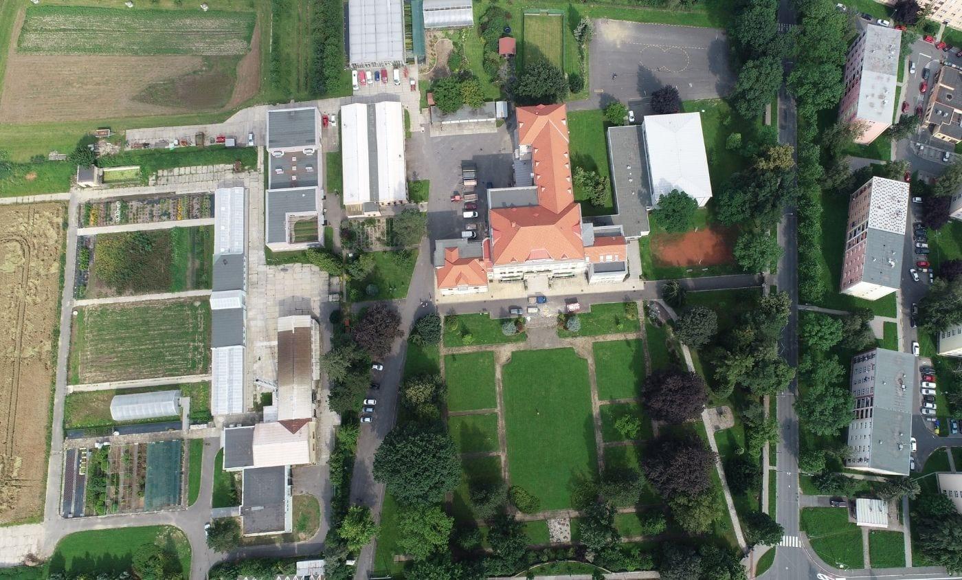 Areál Masarykova střední škola zemědělská a Vyšší odborná škola Opava, young4energy